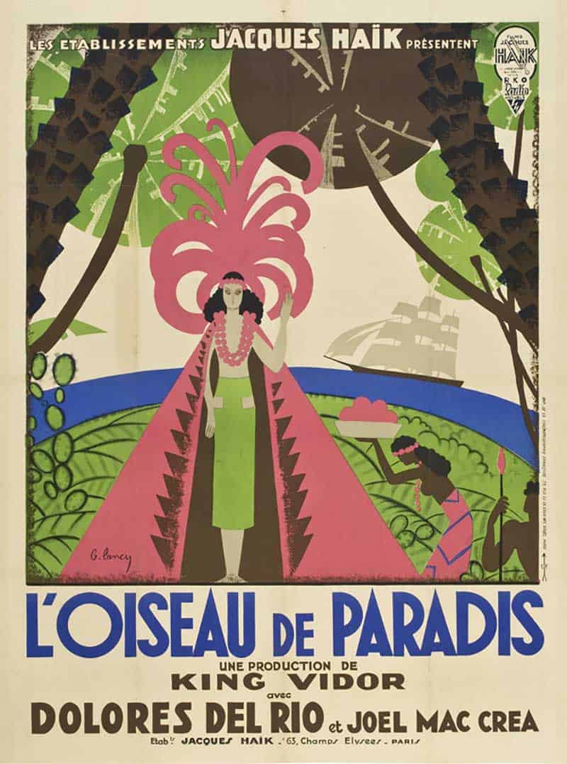 Inspiration – Vintage French Movie Posters - 21 Bird of Paradise - 1932 - RKO