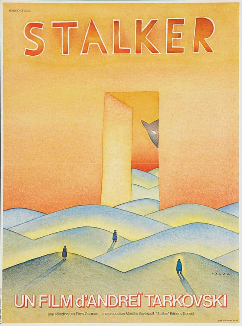 Inspiration – Vintage French Movie Posters - 26 FOLON Stalker - 1981 - Mosfilm
