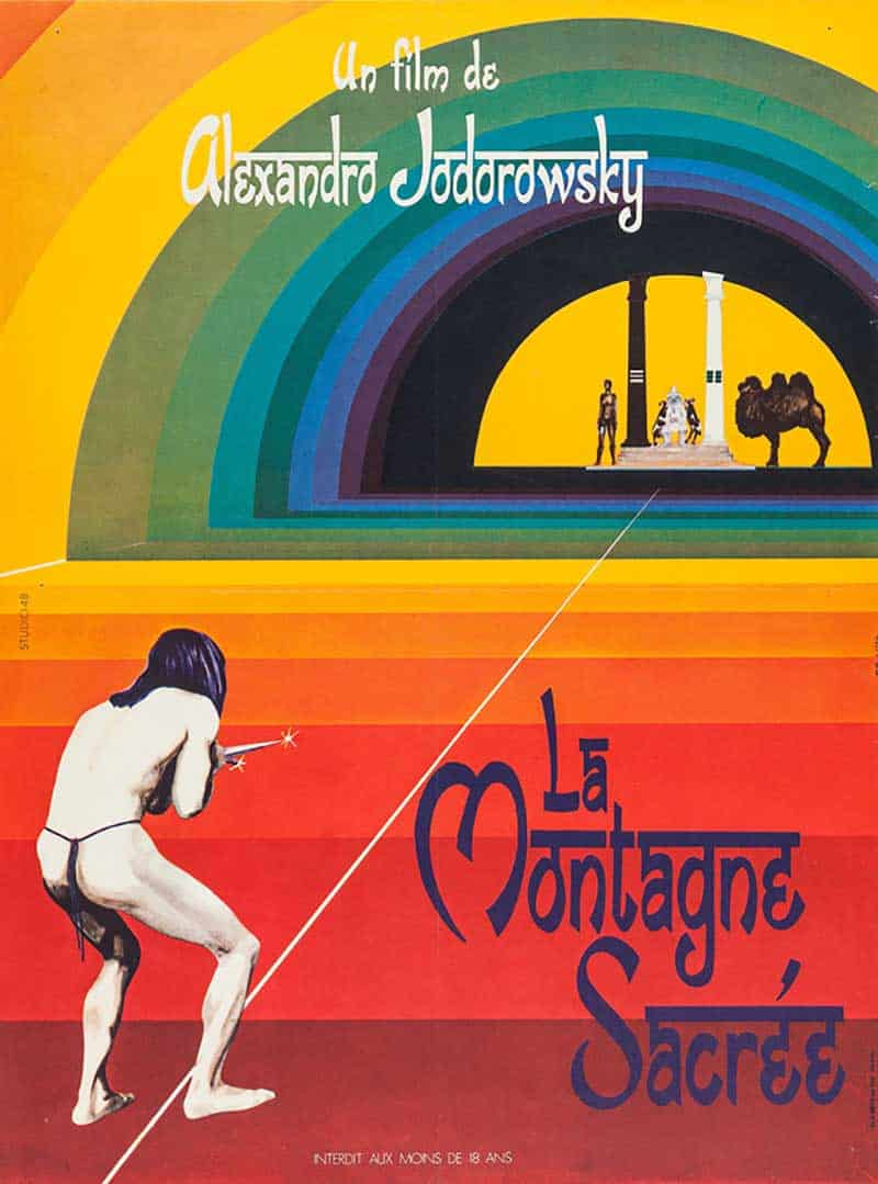Inspiration – Vintage French Movie Posters - The Holy Mountain - 1973 - ABKCO