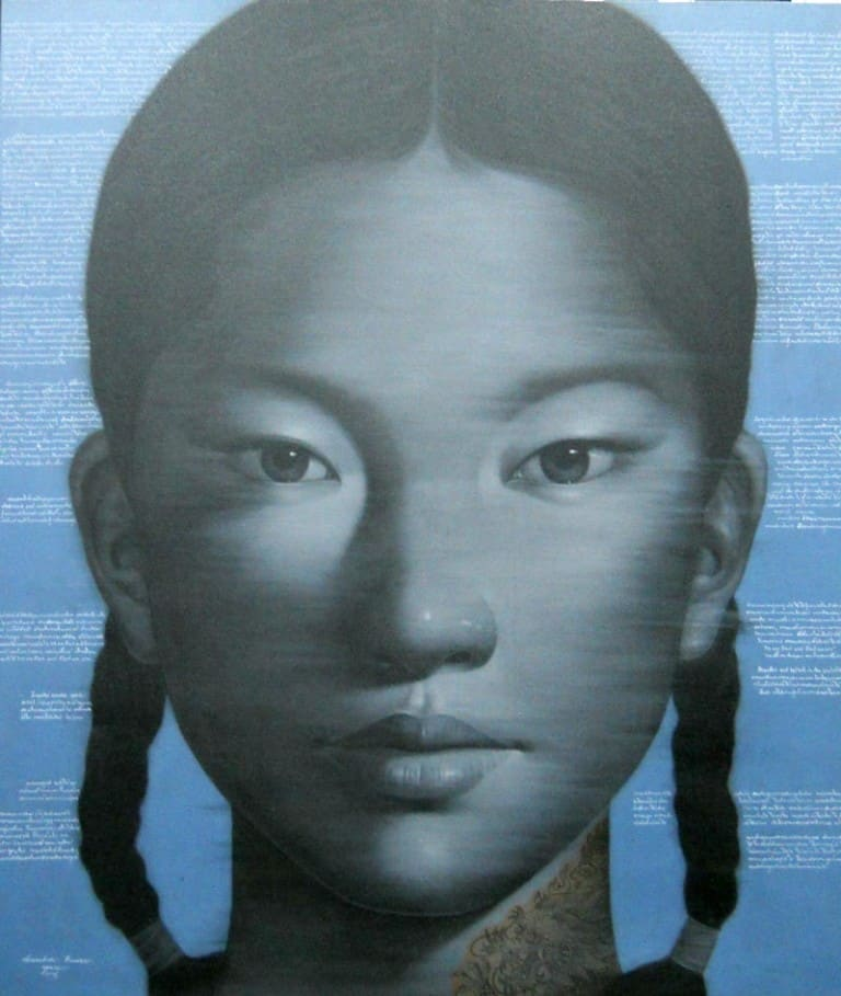 Opex - Girl Face - 120 x 140 - 50