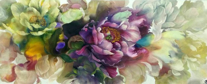 Tor - Flower 11 - 250 x 100 - 28