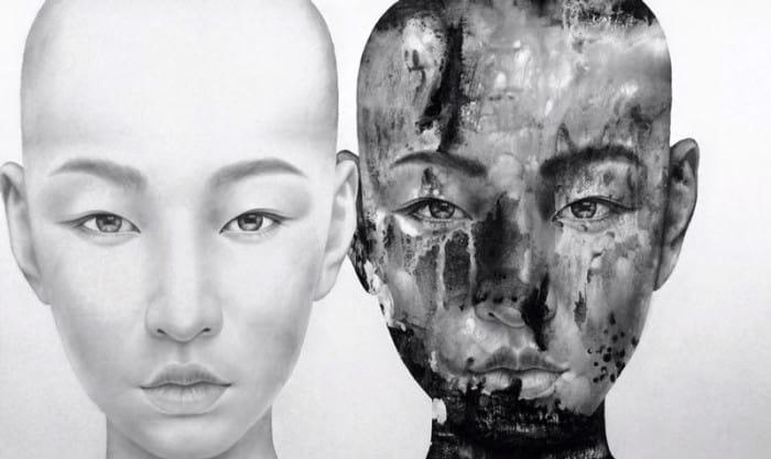 Vichit - Black and White - 200 x 120 - 70