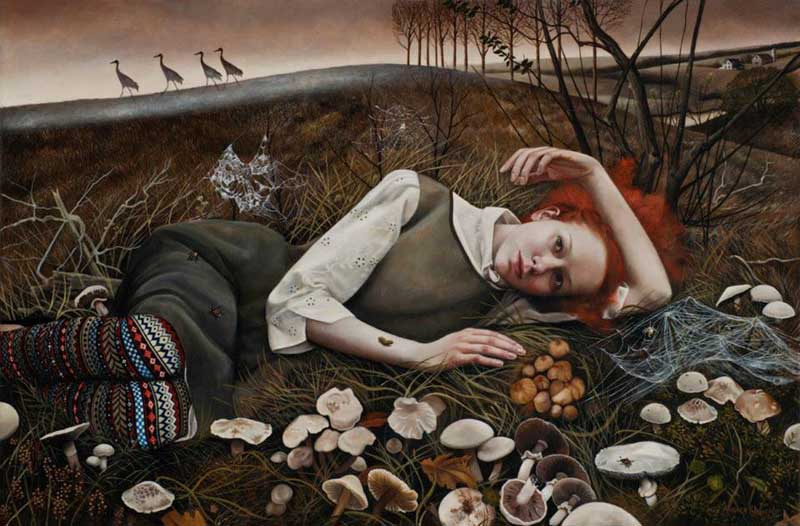 Andrea Kowch - Magic Realism - Midwestern Landscapes 04