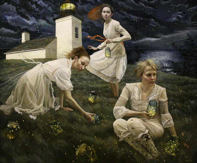 Andrea Kowch - Magic Realism - Midwestern Landscapes 05
