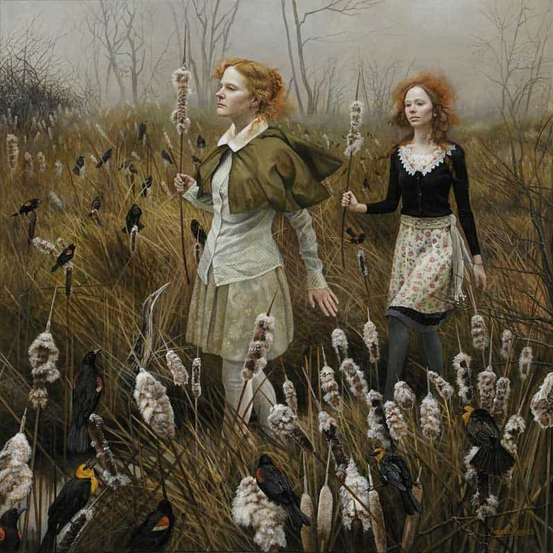 Andrea Kowch - Magic Realism - Midwestern Landscapes 06