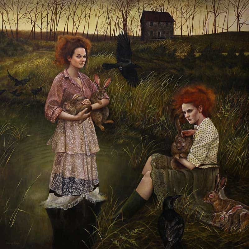 Andrea Kowch - Magic Realism - Midwestern Landscapes 07