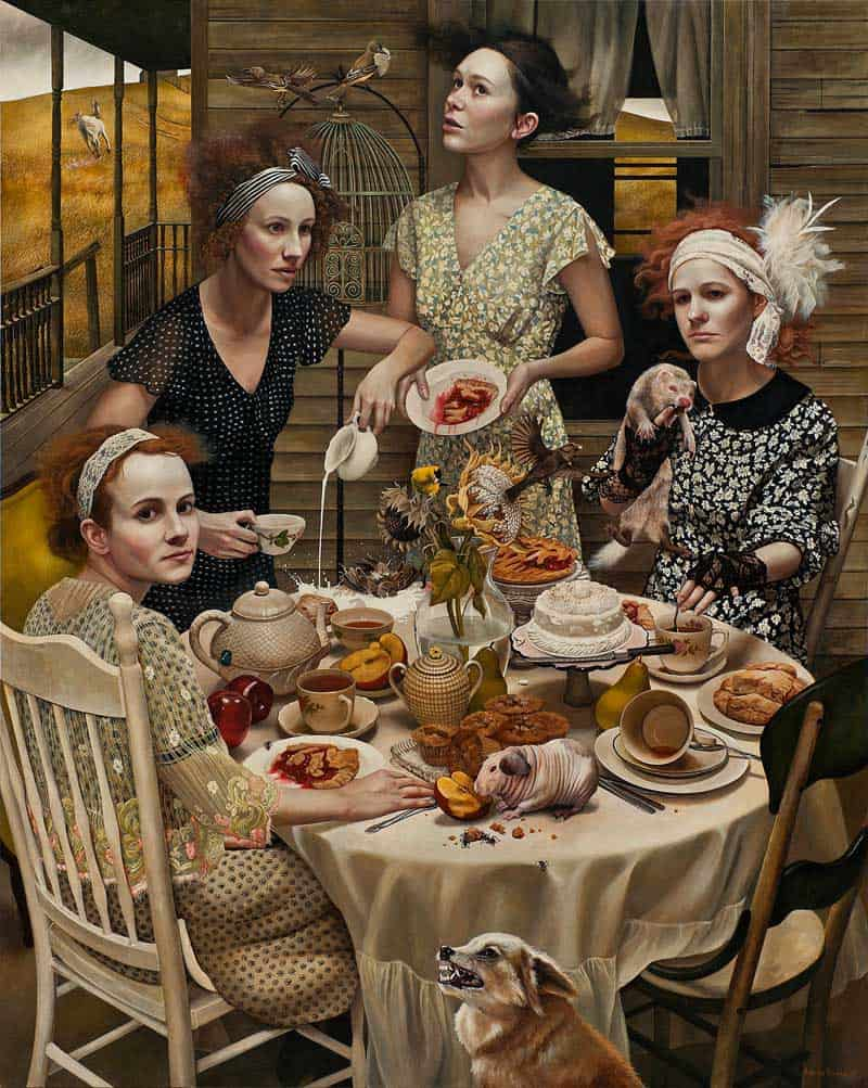Andrea Kowch - Magic Realism - Midwestern Landscapes 09