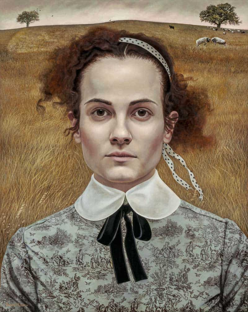 Andrea Kowch - Magic Realism - Midwestern Landscapes 10