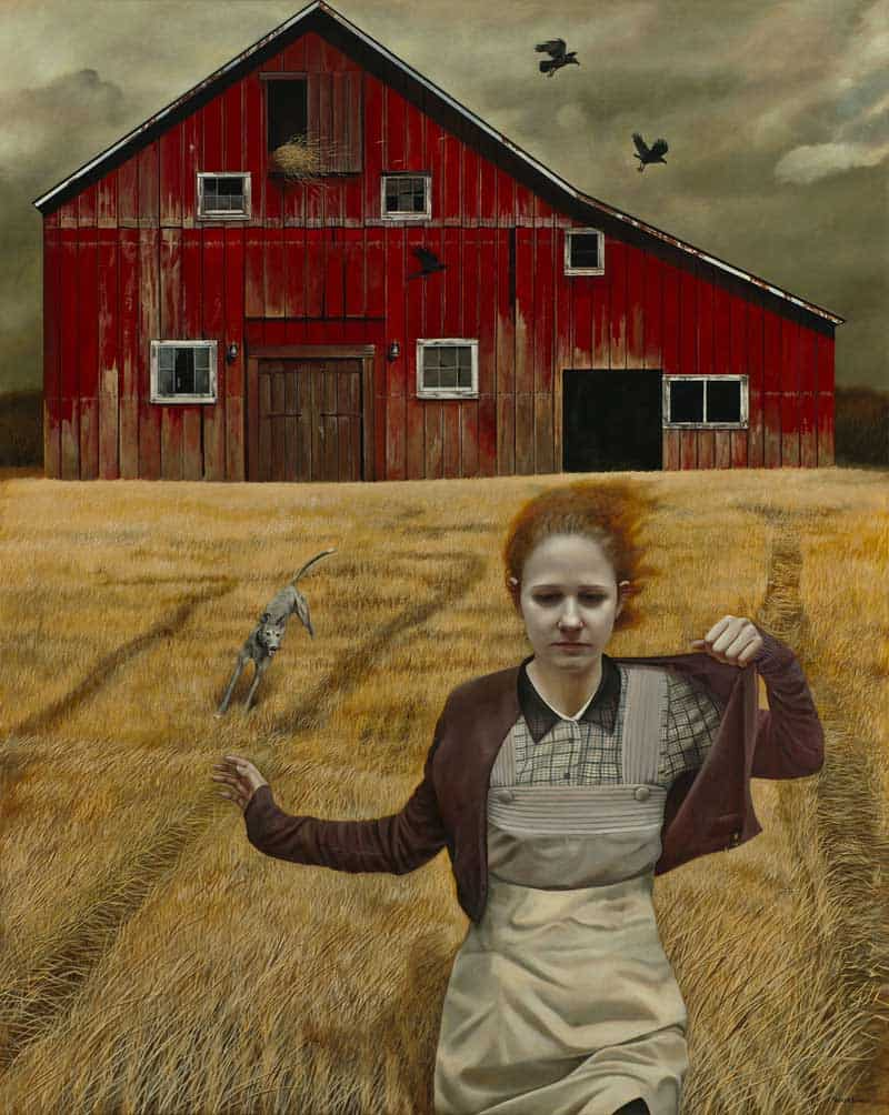 Andrea Kowch - Magic Realism - Midwestern Landscapes 11