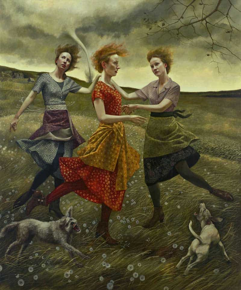 Andrea Kowch - Magic Realism - Midwestern Landscapes 12