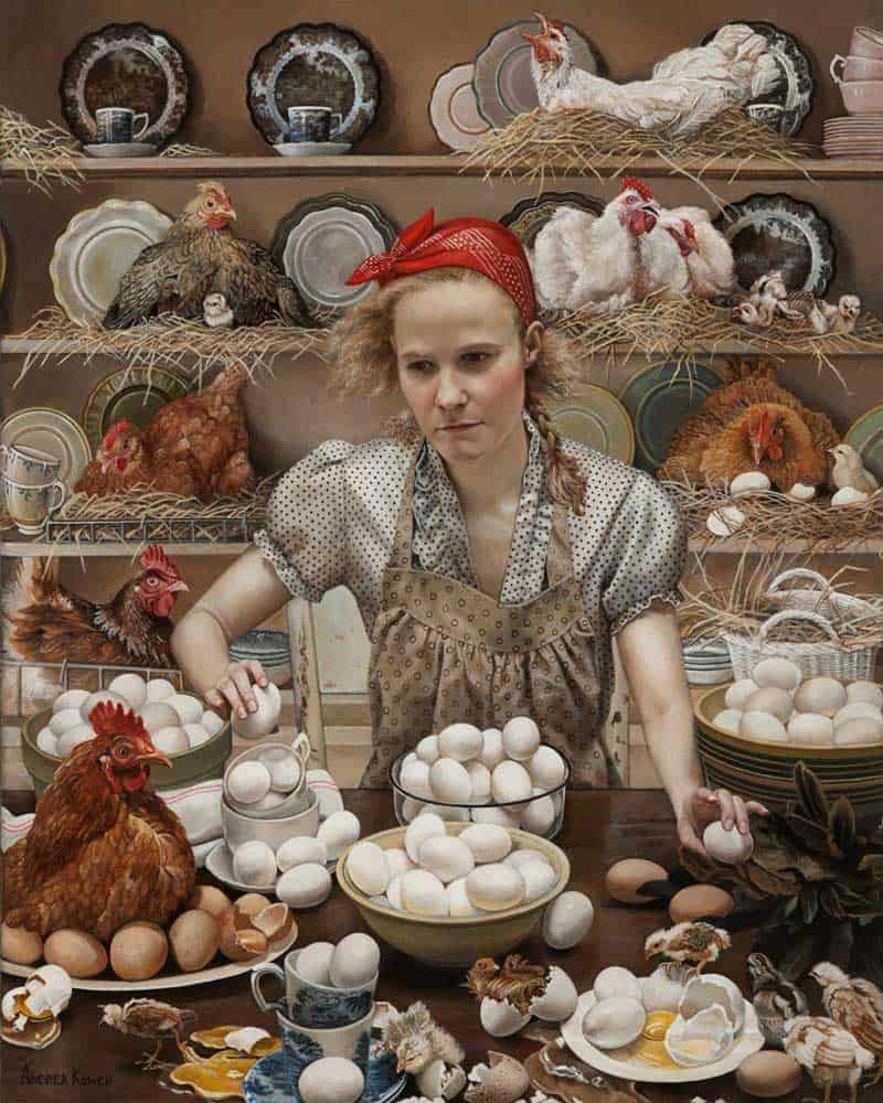 Andrea Kowch - Magic Realism - Midwestern Landscapes 13