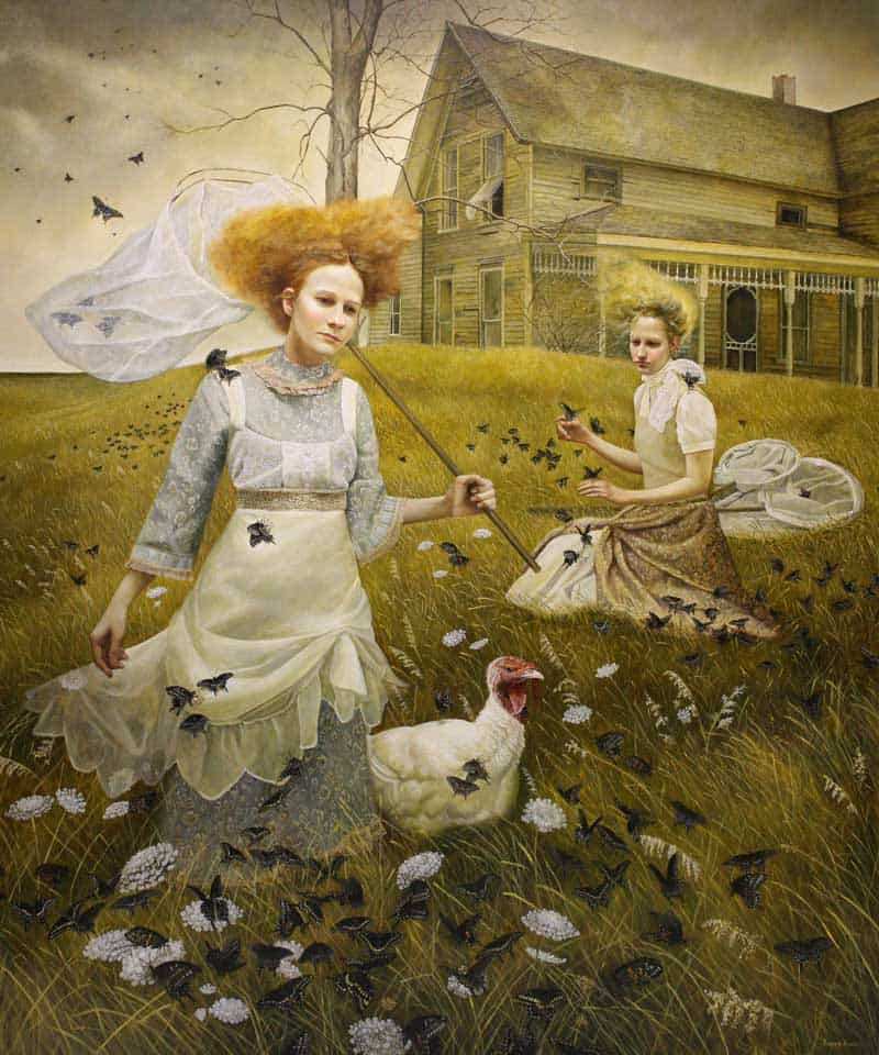 Andrea Kowch - Magic Realism - Midwestern Landscapes 14