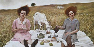 Andrea Kowch - Magic Realism - Midwestern Landscapes - feat