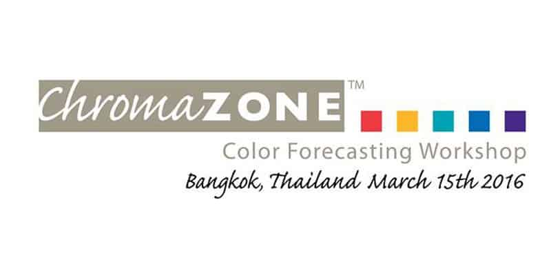 Chulalongkorn University - Chromazone Color Forecasting Workshop