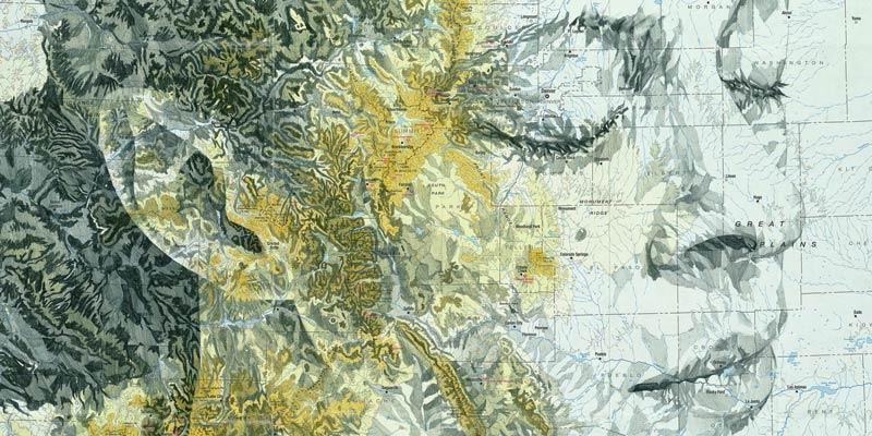 Ed Fairburn - Portraits on Maps 08 - feat
