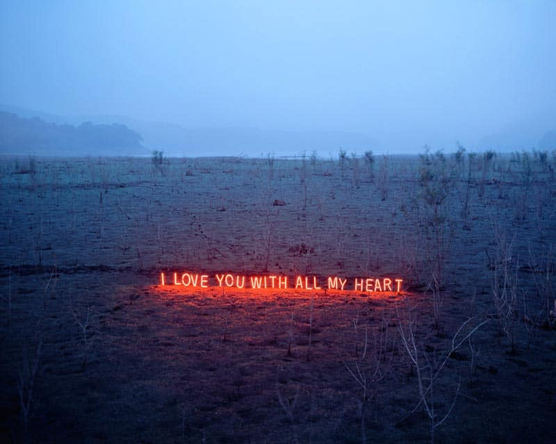 Jung Lee - Neon Installations - Photographs 07