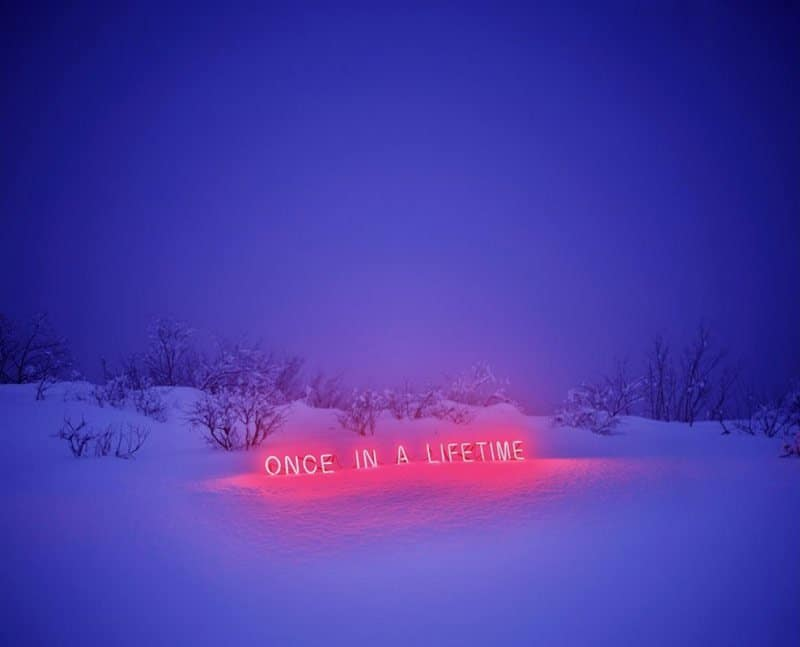 Jung Lee - Neon Installations - Photographs 10