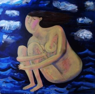 Kitti - Venus in Storm - 100 x 100 - 8