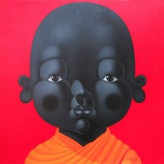 Lek - Child Monk 16 - 120 x 120 - 34