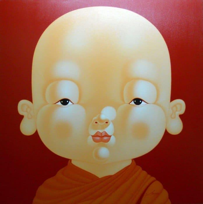 Lek - Monk 14 - 120 x 120 - 34