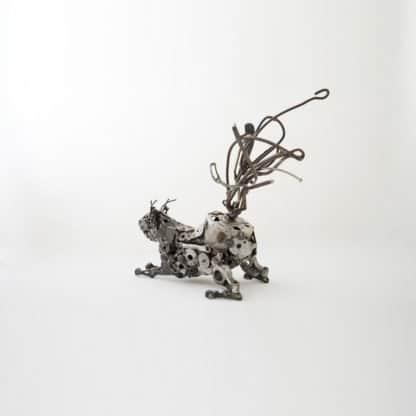 Metal Wall Art - Scupture 06-1 - 40 x 33 x 21 - 5
