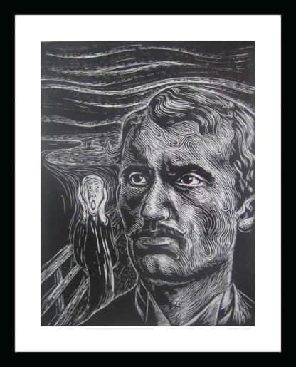 Monthian - Edvard Munch - 30 x 40 - 3