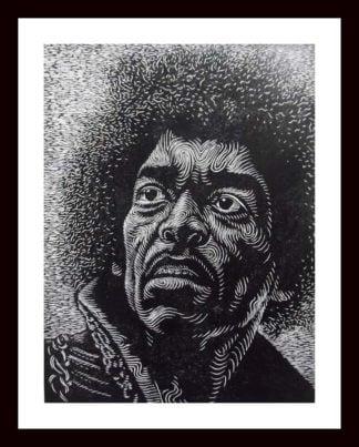 Monthian - Jimi Hendrix - 30 x 40 - 3