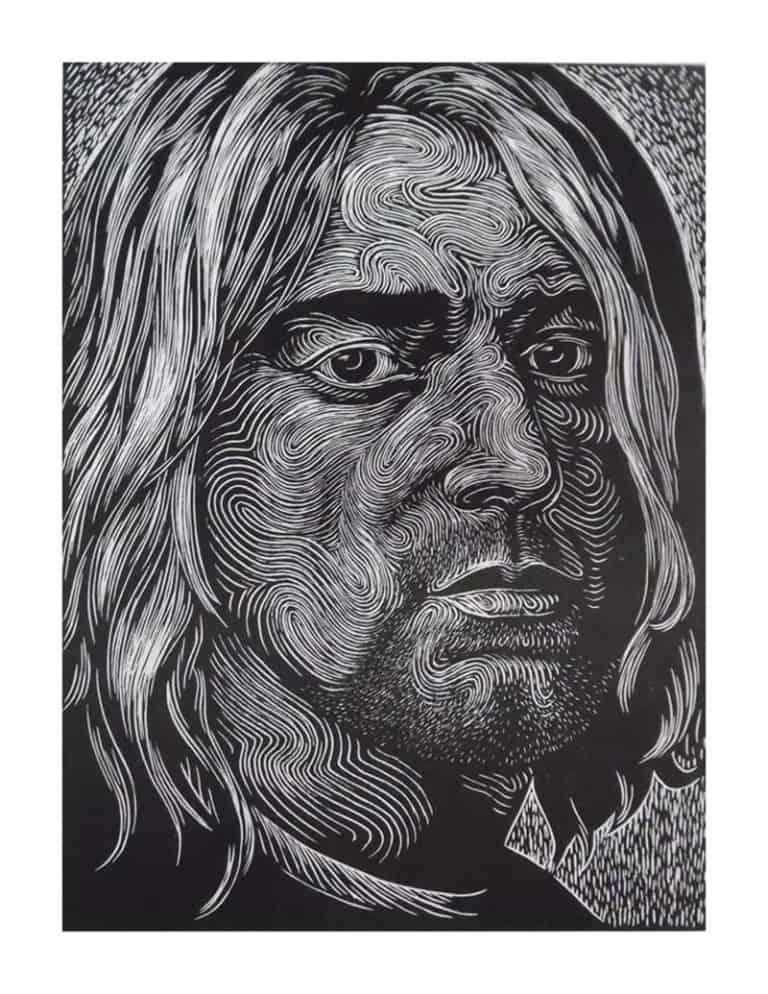 Monthian - Kurt Cobain - 30 x 40 - 3