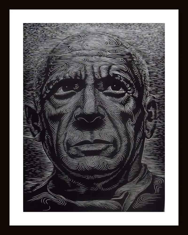 Monthian - Pablo Picasso 01 - 30 x 40 - 3