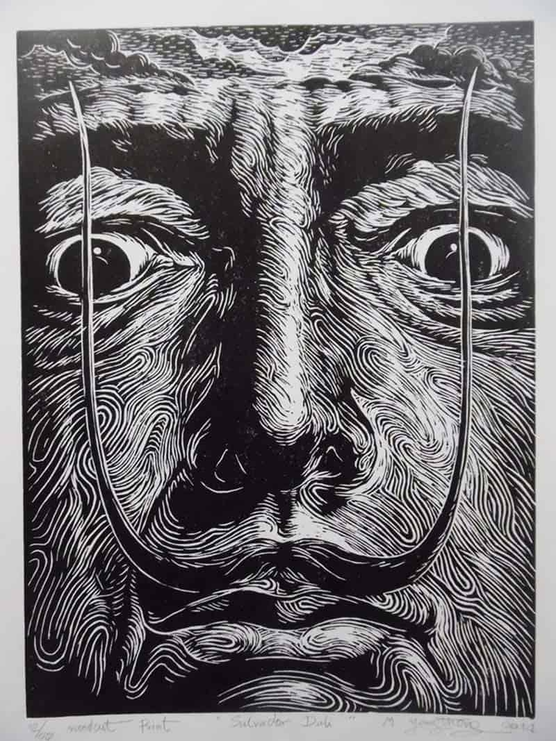 Monthian - Salvador Dali - 30 x 40 - 3
