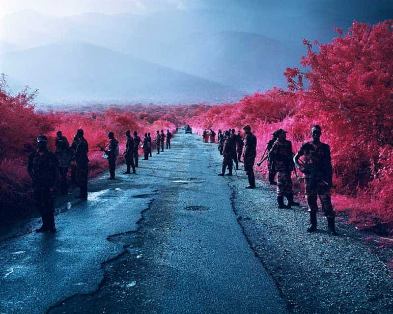 Richard Mosse - Psychedelic Battlefronts 12