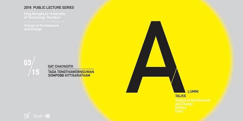 SoA+D School of Architecture and Design - KMUTT - Industrial Designers