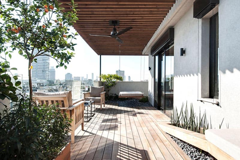 Tel Aviv - Duplex Penthouse - Teledano - Architects 03