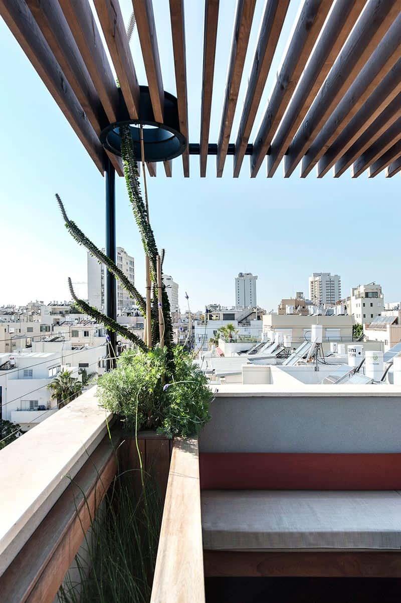 Tel Aviv - Duplex Penthouse - Teledano - Architects 04