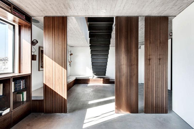 Tel Aviv - Duplex Penthouse - Teledano - Architects 07