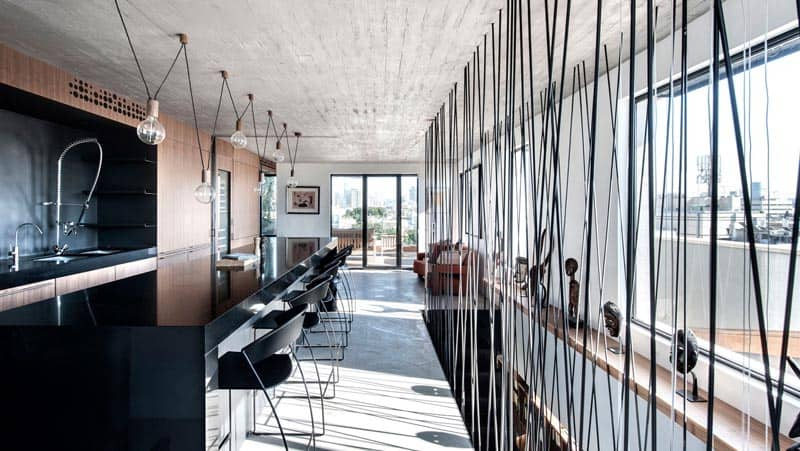 Tel Aviv - Duplex Penthouse - Teledano - Architects 09