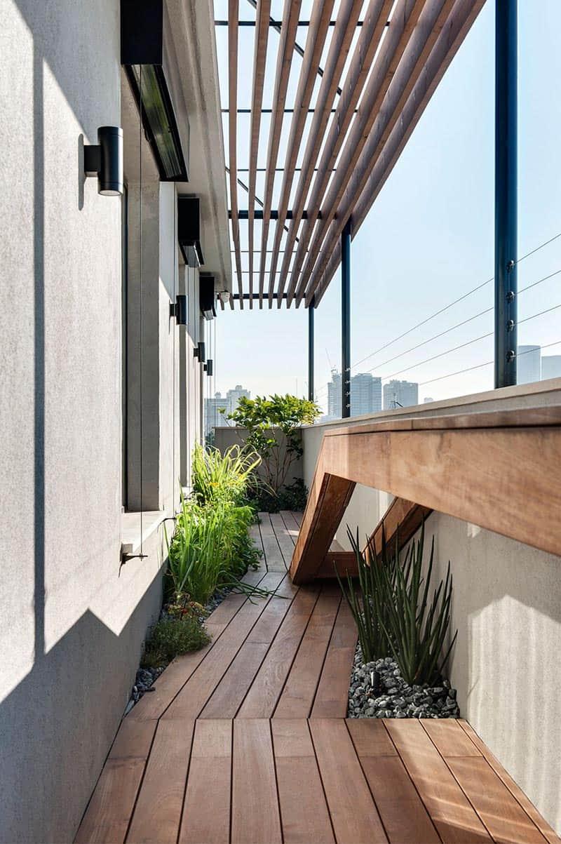 Tel Aviv - Duplex Penthouse - Teledano - Architects 11