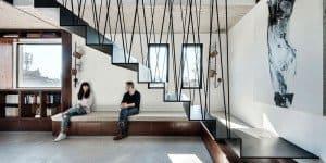 Tel Aviv - Duplex Penthouse - Teledano - Architects 14 - feat