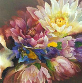 Tor - Flower 12 - 100 x 100 - 12