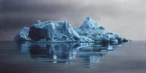 Zaria Forman - Icebergs in Pastel 05 - feat