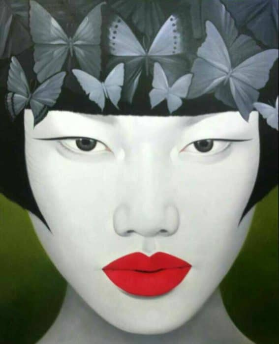 Anan - Portrait 22 - 110 x 130