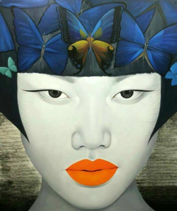 Anan - Portrait 23 - 110 x 130