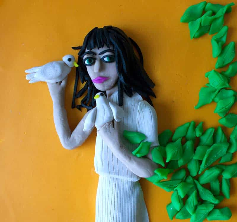 Artist Spotlight - Iconic Photographs in Play-Doh 12