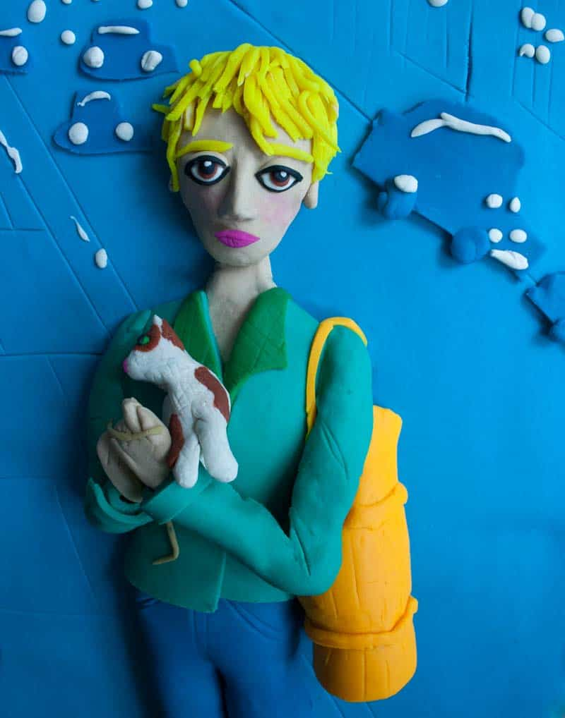 Artist Spotlight - Iconic Photographs in Play-Doh 17