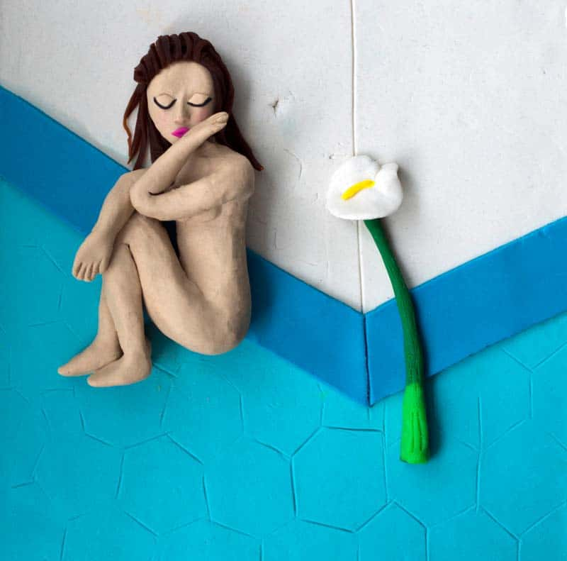 Artist Spotlight - Iconic Photographs in Play-Doh 20