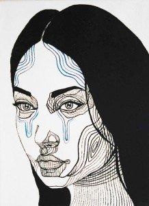 Blue Bird – Girl Portrait 03 – 30 x 40 – 3-5