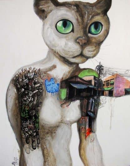 Gee - Sweet Tattoo-My Cat Woman - 110 x 140 - 26