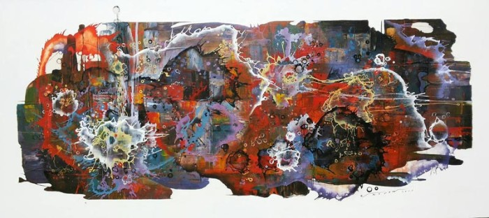Noi - If We Have a Lot of Color - 220 x 80 - 25