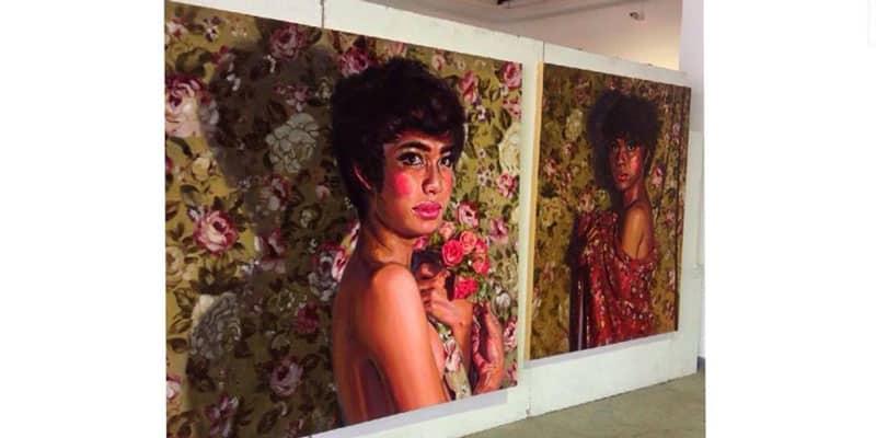 YenakArt Villa Gallery - Blooming Flowers - Padupong Saruno