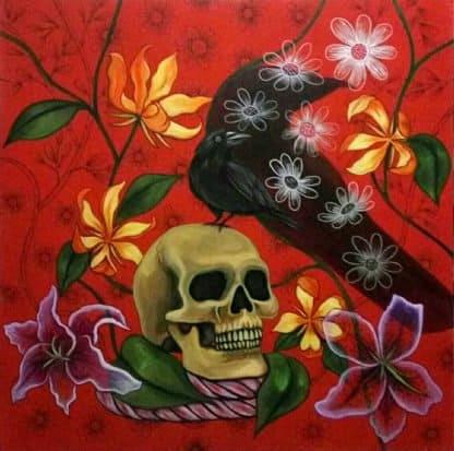 Blue Bird - Life and Death - 100 x 100 - 15
